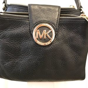 Michael Kors logo crossbody purse